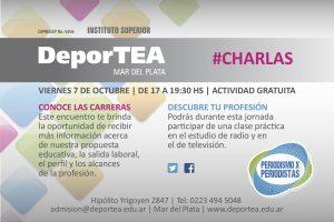 DeporTEA #Charlas