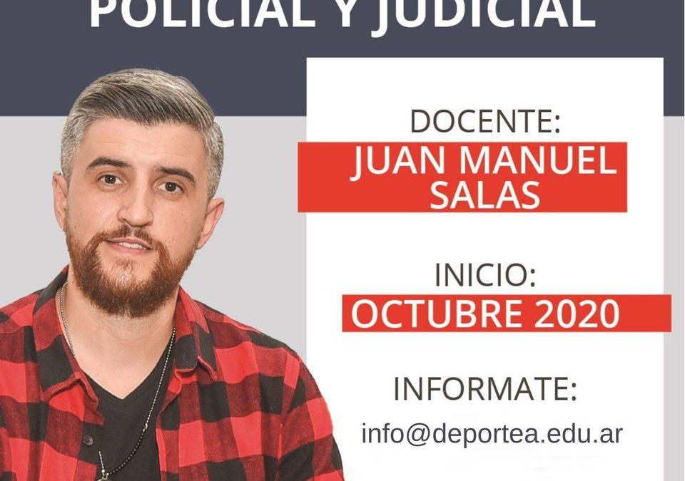 Taller de Periodismo Policial y Judicial